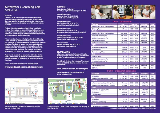 Hvidovre Hospital folder 2