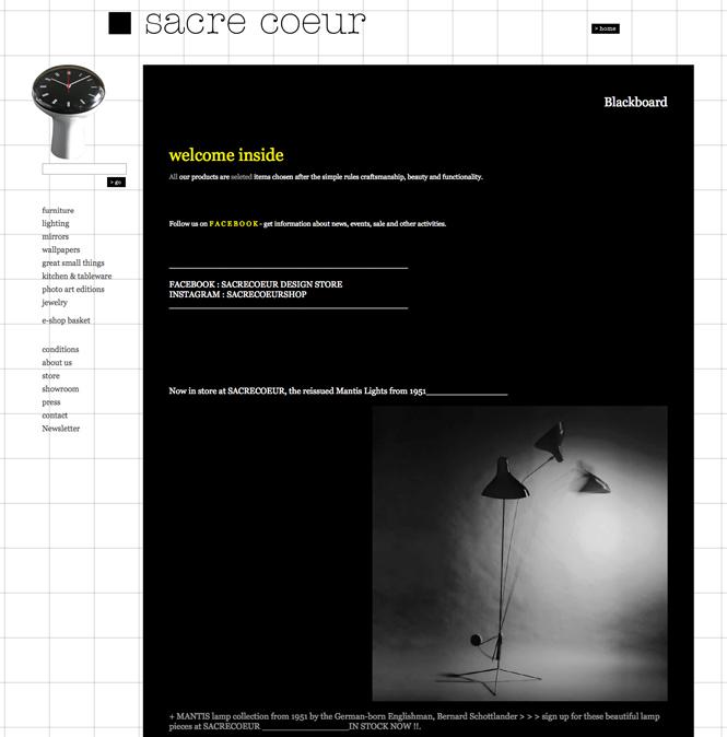 Sacre Coeur website